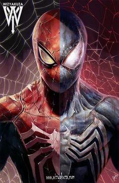 Spider/Symbiote Split