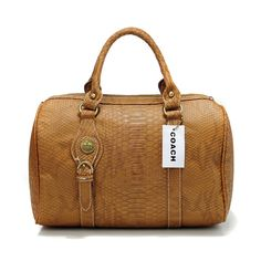 Crocodile-embossed leather transforms this structured satchel with striking drama and exotic texture. Gilded Madison hardware gives it sophisticated polish. Michael Kors Fashion, Cheap Michael Kors, Cheap Designer Handbags, Cheap Handbags, Coach Purses Outlet, Purses And Bags, Fall Handbags, Coach Handbags, Handbag Stores
