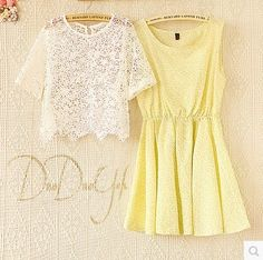 T P 0 0 2 b | Price (RM): 60 | Color: Yellow | Size: S / M / L | Postage: Inclusive | Click the picture for more details Floral Tops, Color Yellow, Lace, Dresses, Women, Style, Fashion, Gowns, Moda