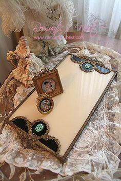 French ormolu dresser tray
