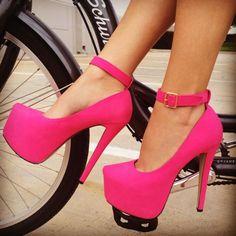 Ankle Strap Platform... Love!!❤️