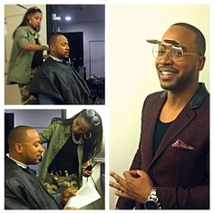 GettiN Columbus Short groomed for an appearance on the Arsenio Hall show