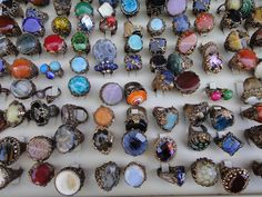 Awesome Turkish Rings http://www.flickr.com/photos/thepearl/4693864878/in/photostream/