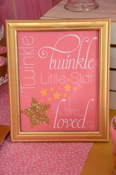 The Howard Family Blog: Sawyer's Twinkle Twinkle Little Star Party