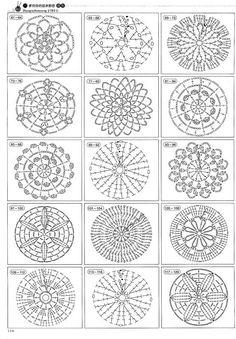 crochet autumn spice mandala doily 60 free crochet mandala patterns page 3 of 12 diy amp crafts - PIPicStats Crochet Circle Pattern, Crochet Chart, Crochet Squares, Thread Crochet, Crochet Granny, Crochet Motif, Crochet Doilies, Crochet Flowers, Crochet Stitches