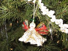 Tampon Angel Ornament - almost as good as my go-to white elephant gift! | Community Post: 15 Crafts That Will Haunt Your Dreams