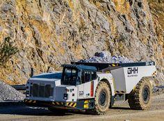 GHH – Studio Heikki Naulapää Oy Dump Trucks, New Trucks, Heavy Construction Equipment, Heavy Machinery, Tractors, Guns, Studio, Building, Vehicles