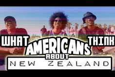 What Americans think of New Zealand #nz #newzealand