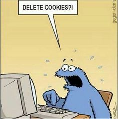Cookie Monster: Cookies are to be ate!