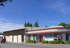 Post Office and Willits Automotive Services | Flickr - Photo Sharing!