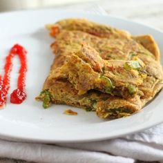 Omelette with sppinach, peppers, onions, carrot. Egg, dairy , gluten, soy free
