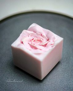 Rose Cube Soap