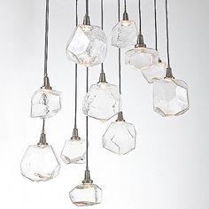 Gem Round Multi-Light Pendant by Hammerton Studio at Lumens.com