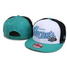 New Era New Orleans Hornets Snapback Hats - White Green d8b293bd0a8