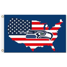 #USA #FLAG #SEATTLE #UNITED #STATES #BANNER #WORLD #SERIES #FOOTBALL #TEAM #3FT #X #5FT #AMERICA #SEATTLE #FLAG #BANNER