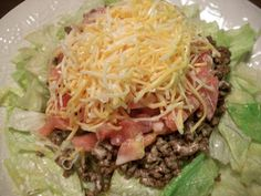 Sandy's Kitchen: Taco Salad