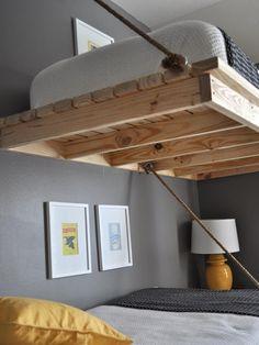 hochbett selber bauen kinderzimmer pinterest treppe bauen hochbetten und bauanleitung. Black Bedroom Furniture Sets. Home Design Ideas