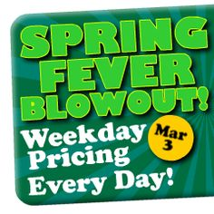 Spring Fever Blowout - Beech Mountain Resort