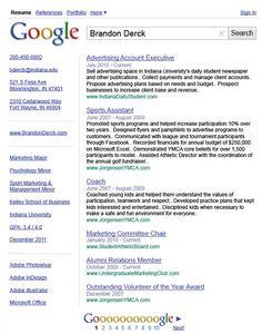 creative Resume   Creative Resume I Designed for Class 30 Amazingly Creative Examples of ...