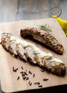 receta de Asado de cerdo a la mostaza