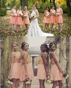 peach bridesmaid dresses uk