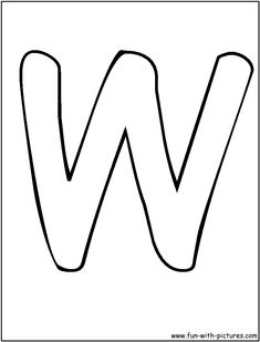 Big Letter W | www.pixshark.com - Images Galleries With A ...