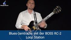 Blues Jamtracks aufnehmen mit der BOSS RC-2 LOOP STATION
