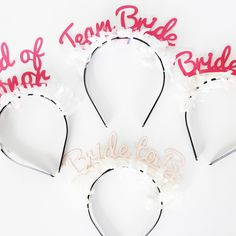 Must-haves for any bachelorette party. http://go.brit.co/1sJF2Sw