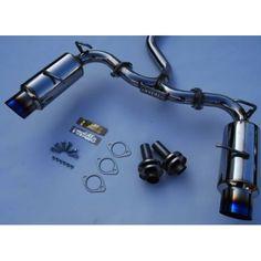 Invidia N1 Exhaust Scion FRS/Subaru BRZ [Catback - Titanium Tips] (2013) HS12SSTGTT