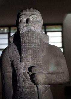 Busto do Rei Assírio Salmanazar III
