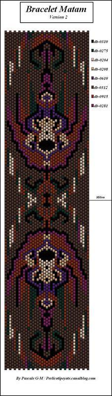 Bracelet Matam - perlicoti-peyote