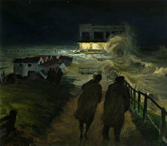 1953 Floods at Southwold, Suffolk by Frank Forward