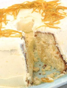 This is a recipe by Melissa van Hoogstraten of the famous Melissa's food stores - and one which she swears by. Gorgeous Cakes, Amazing Cakes, Cake Recipes, Dessert Recipes, Desserts, Orange Chiffon Cake, South African Recipes, Moist Cakes, Sweet Tarts