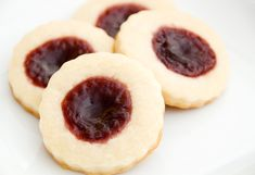 raspberry cream cheese cookies recipe | use real butter