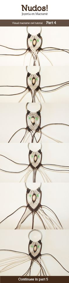 Macrame Owl Tutorial - Part 4 by enenauta on DeviantArt