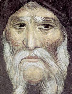 Saint Anthony the Great Fresco, Anthony The Great, Byzantine Art, Orthodox Icons, Mural Painting, Tempera, Sacred Art, Catholic, Saints