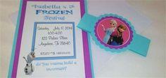 Frozen Party : Frozen Party Invites