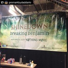 #Repost @promarkbydaddario: Rock show tonight. @bkerchofficial #Shinedown