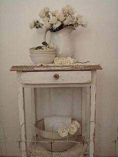 Dreamy Whites and white ironstone