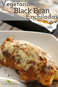 Hearty Vegetarian Black Bean Enchilada Recipe