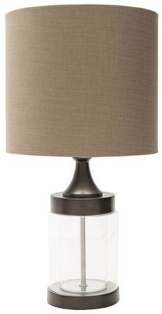 Perfect table lamp for any home decor style! Kibler lamp by Surya (KIB-100).