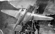 Polikarpov SPB in wind tunnel. Polikarpov SPB (D) (1940) (Skorostnoy Pikiruyushchy Bombardirovshchik (Dalnost)—High Speed Dive Bomber (Distance)) was a Soviet twin-engined dive bomber designed before World War II. A single prototype and five pre-production aircraft were built, but two crashed and the program was cancelled in favor of the Petlyakov Pe-2.