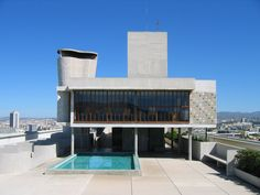 Le Corbusier: The Architect Behind Kanye West's 'Yeezus' Project Le Corbusier, Alvar Aalto, Villas, Hotel France, Modern Architects, Brutalist, Bauhaus, My Dream Home, Terrazzo