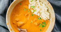 An amazing Indian chicken tikka masala recipe — restaurant quality, made from scratch, and easy to make. The chicken is tender and flavorful, and the sauce is creamy, thick, and decadent. It's also low carb, keto, and gluten free. Best Veggie Burger, Chicken Chunks, Loaded Mashed Potatoes, Indian Chicken, Chicken Tikka Masala, Masala Recipe, Canned Tomato Sauce, Boneless Skinless Chicken, Creamy Chicken