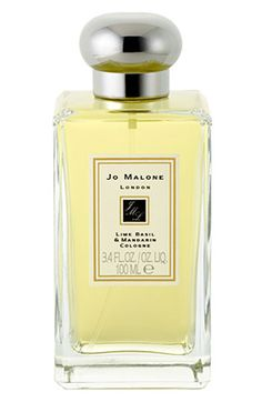 My favorite cologne:  Jo Malone Lime Basil & Mandarin.  I layer White Jasmine Mint over it.