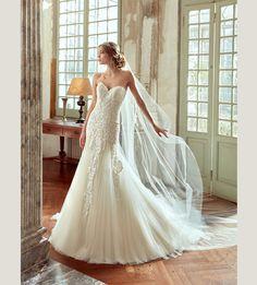 Fashion bride 2017 - Collection NICOLE.  NIAB17124. Wedding Dress Nicole.