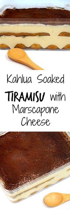Super yummy Tiramisu with marscapone cheese (best trifle desserts) Xmas Desserts, Trifle Desserts, Dessert Dishes, No Cook Desserts, Sweet Desserts, Sweet Recipes, Dessert Recipes, Cake Recipes, Pumpkin Dessert