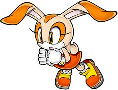 Cream the Rabbit - Sonic game figure Game Sonic, Sonic Boom, Sonic Fan Characters, Disney Characters, Fictional Characters, Shadow The Hedgehog, Sonic The Hedgehog, Sonic Advance 2, Cream Sonic