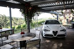 2017 Alfa Romeo Portsea Polo  Kicking off with a warm up party the night before at the Mornington Peninsula's Polperro Winery, guests were treated to all things Italian with free flowing Peroni, Spritz cocktails and dishes before competition day.  Guests in attendance included Tim Robards, Didier Cohen, Laura Dundovic and Phoebe Tonkin who all helped to herald in the Italian carmaker's latest luxury sports model.