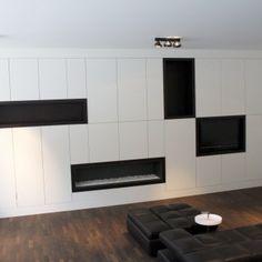 robby aerts » meubel interieur architectuur » nieuwbouw duowoonst mediakast met gashaard